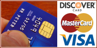 Use Visa, MasterCard or Discover for freight brokerage payments